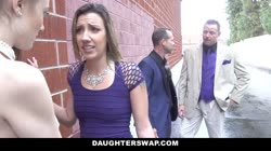 DaughterSwap - Scummy Step Dads Take Advantage Of Their Slutty Daughters