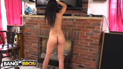 BANGBROS - Sexy, Young Latina Maid Cleans Up A Crazy Client's House